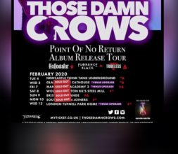 Crows shows selling out Fast…